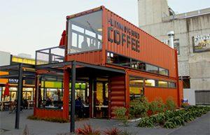 Container cà phê mega menu