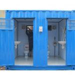 Container nhà vệ sinh 10 feet 2 phòng
