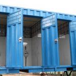 Container nhà vệ sinh 20 feet 4 – 5 phòng