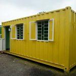 Container văn phòng 20 feet có toilet