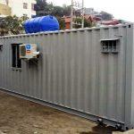 Container văn phòng 40 feet có toilet 1